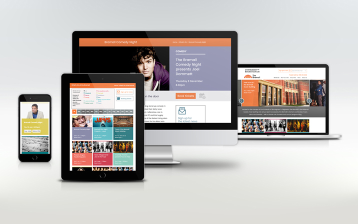 The Bramall website