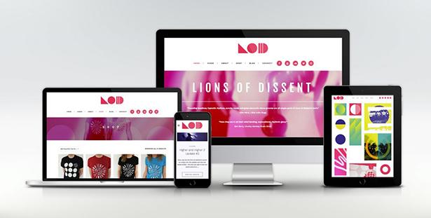 Lions of Dissent website