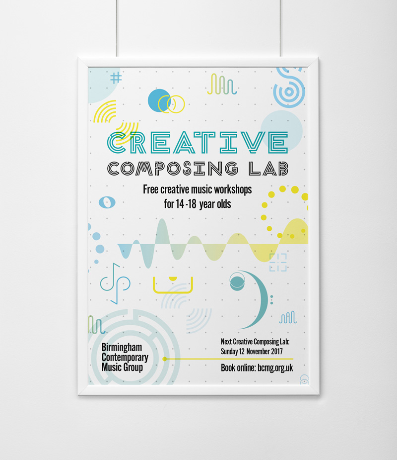 Creative Composing Lab identity
