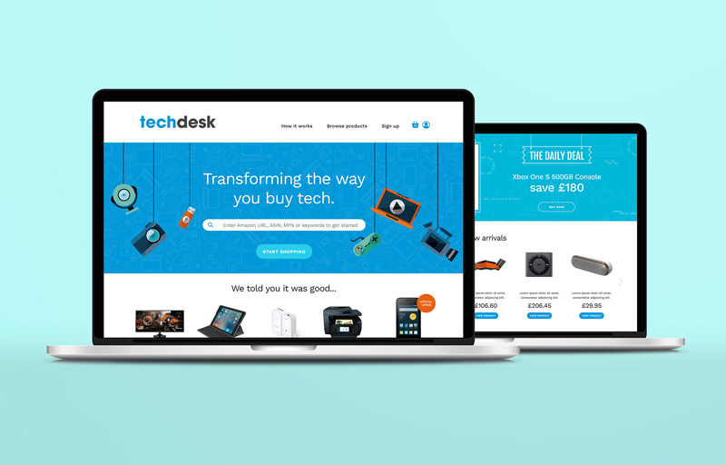 Techdesk website