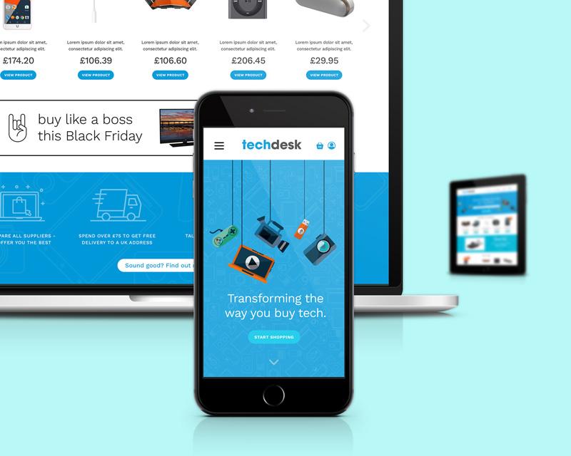 Techdesk website