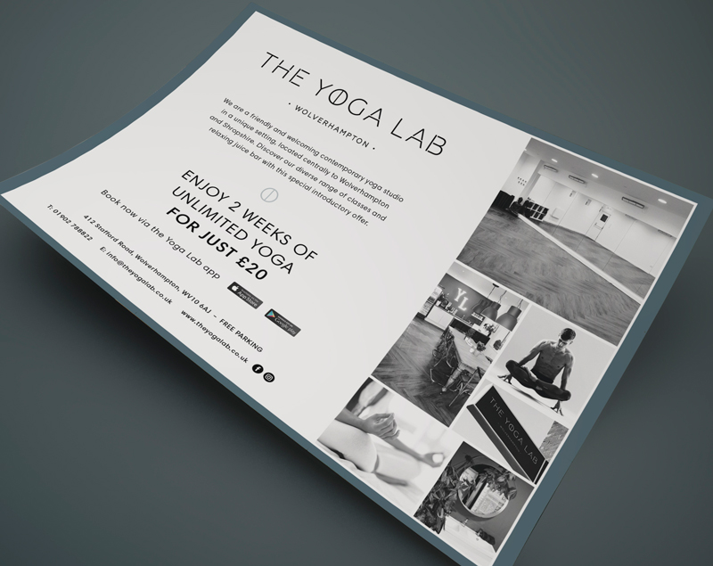 The Yoga Lab flyer