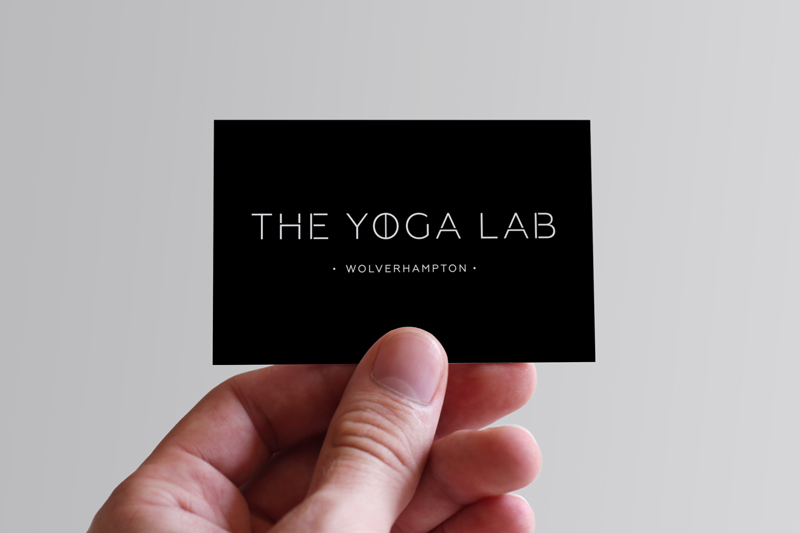 The Yoga Lab Business Card