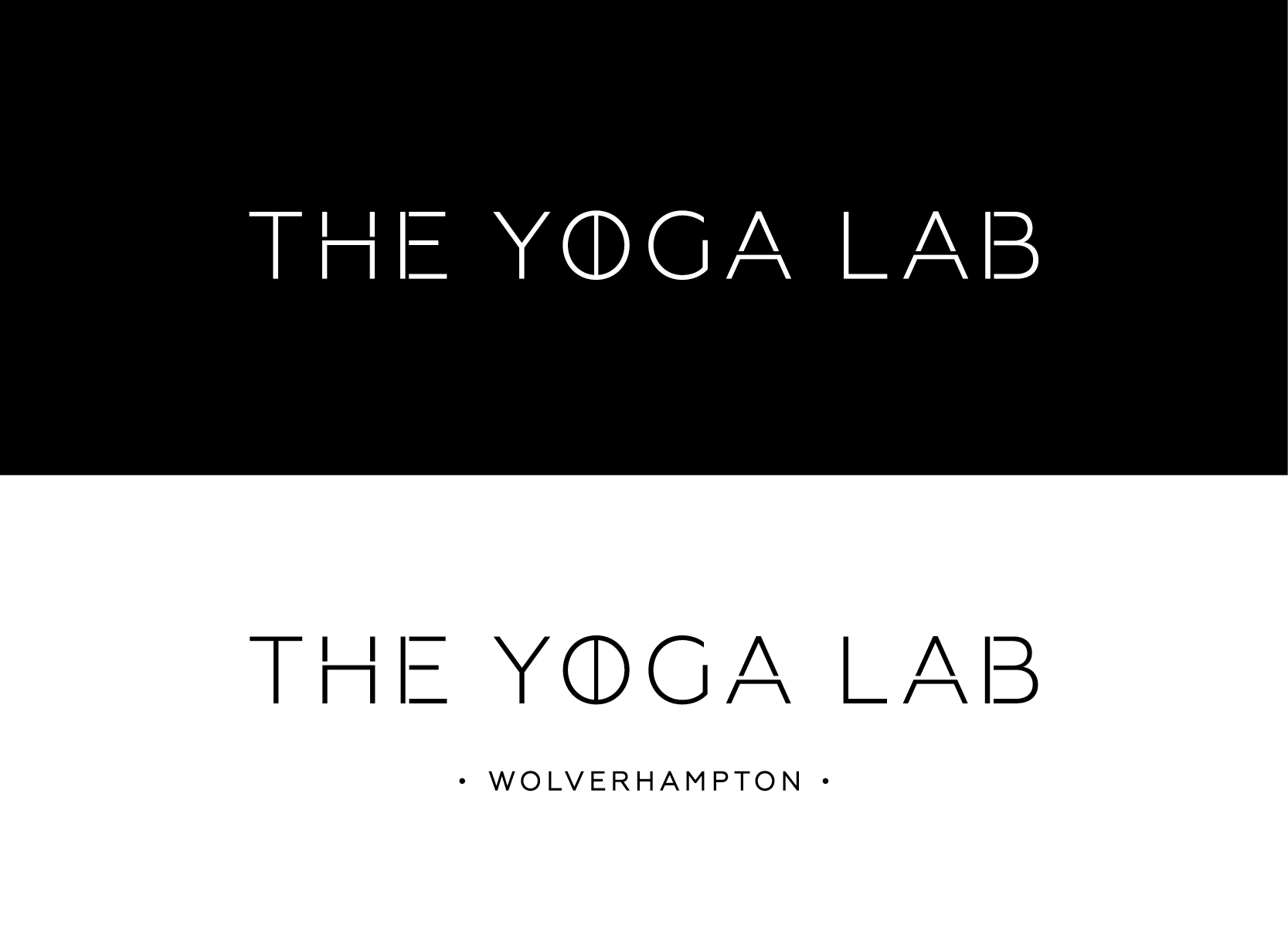 The Yoga Lab logo design
