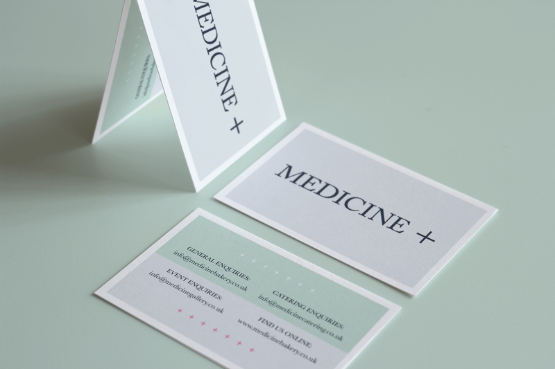 Medicine business cards