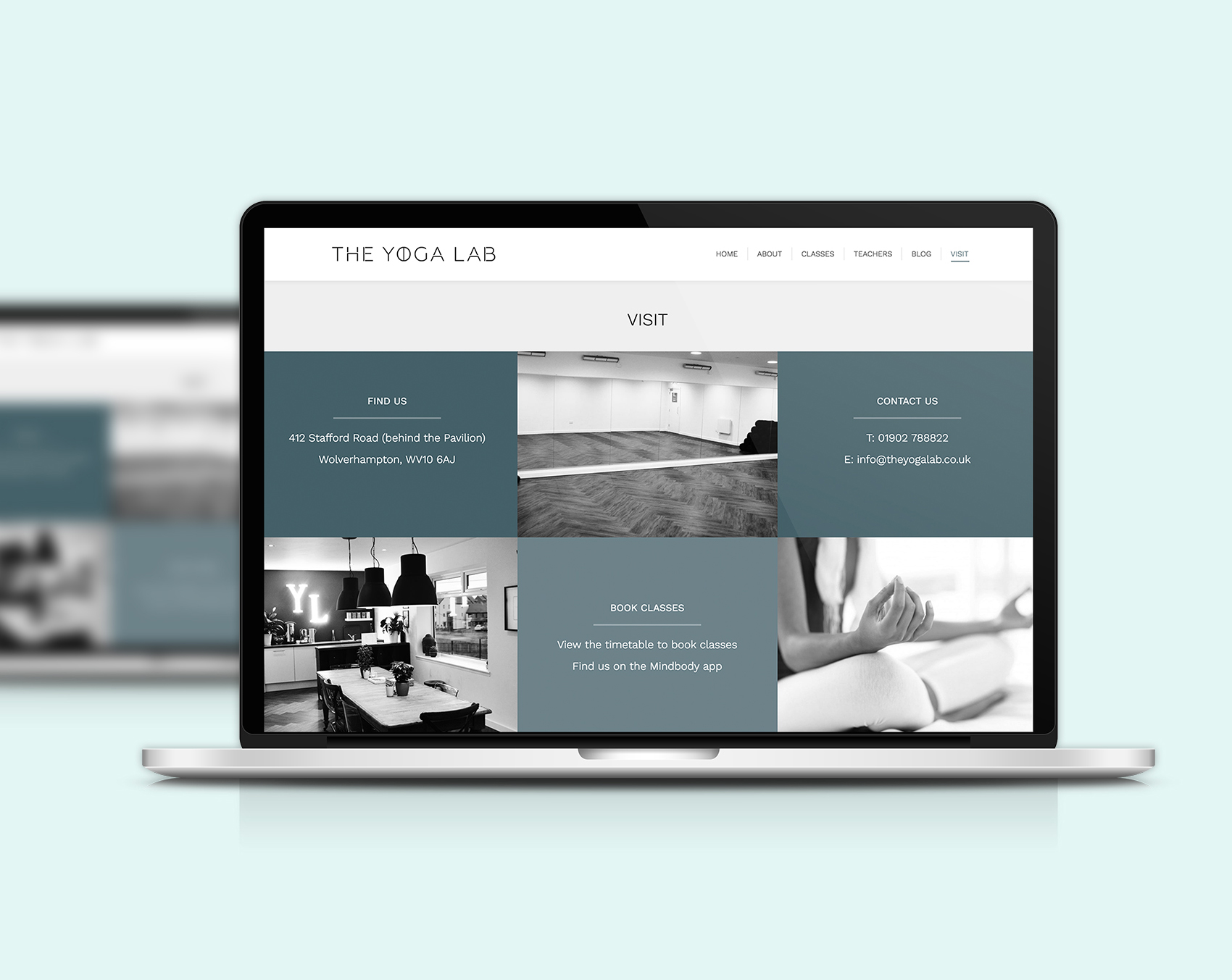 The Yoga Lab website