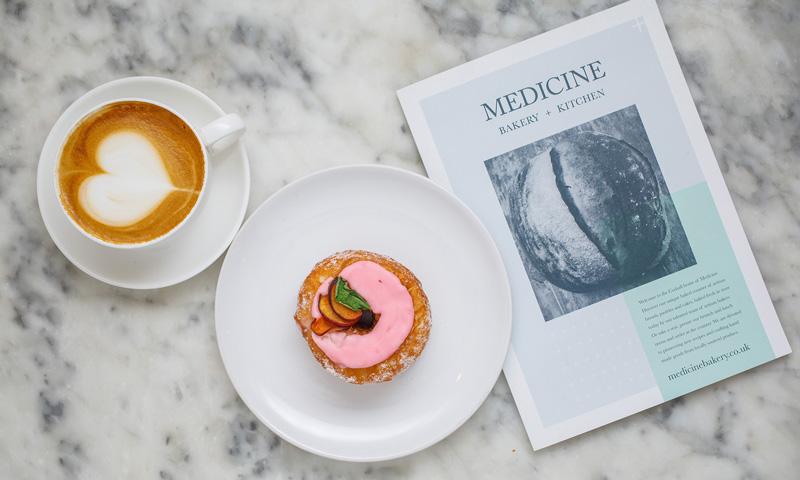 Medicine menu design