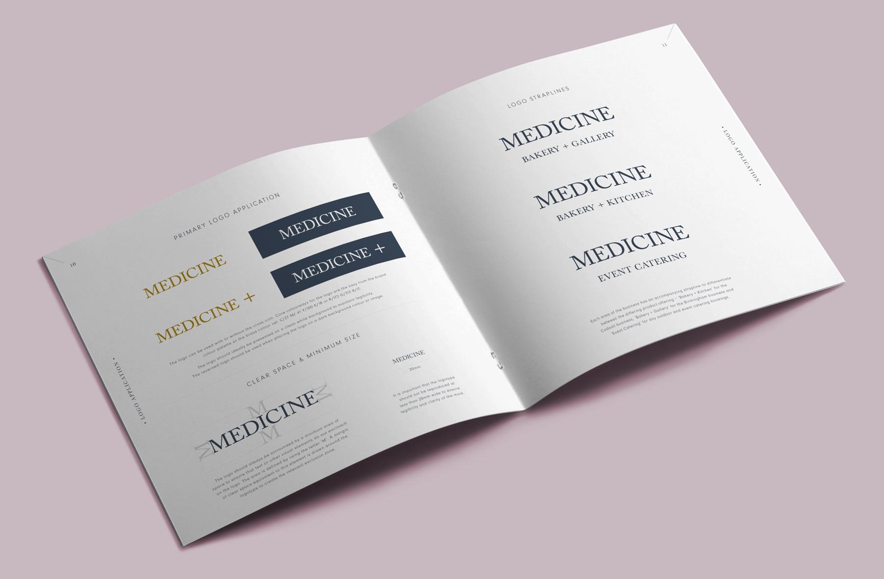 Medicine Brand Guidelines