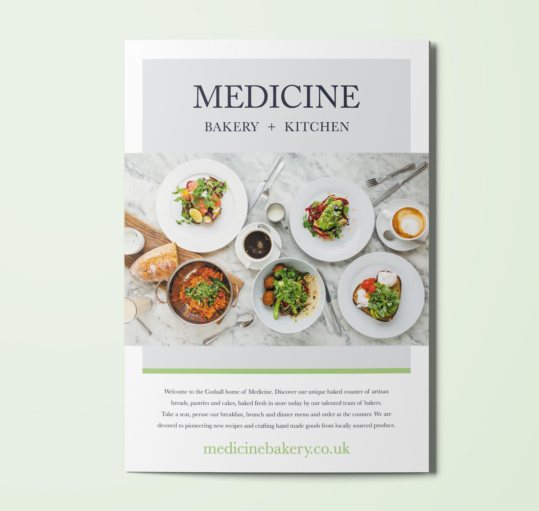 Medicine Menu