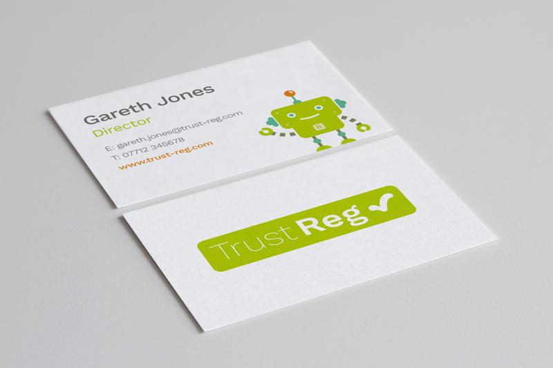 Trust Reg business card