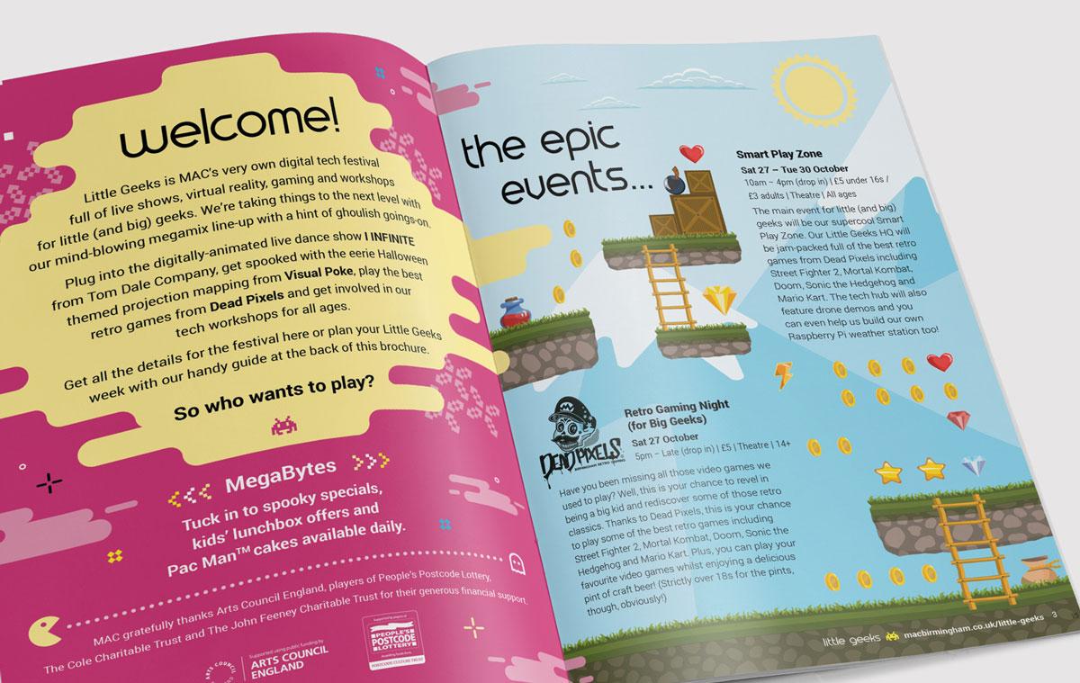 Mac Little Geeks brochure