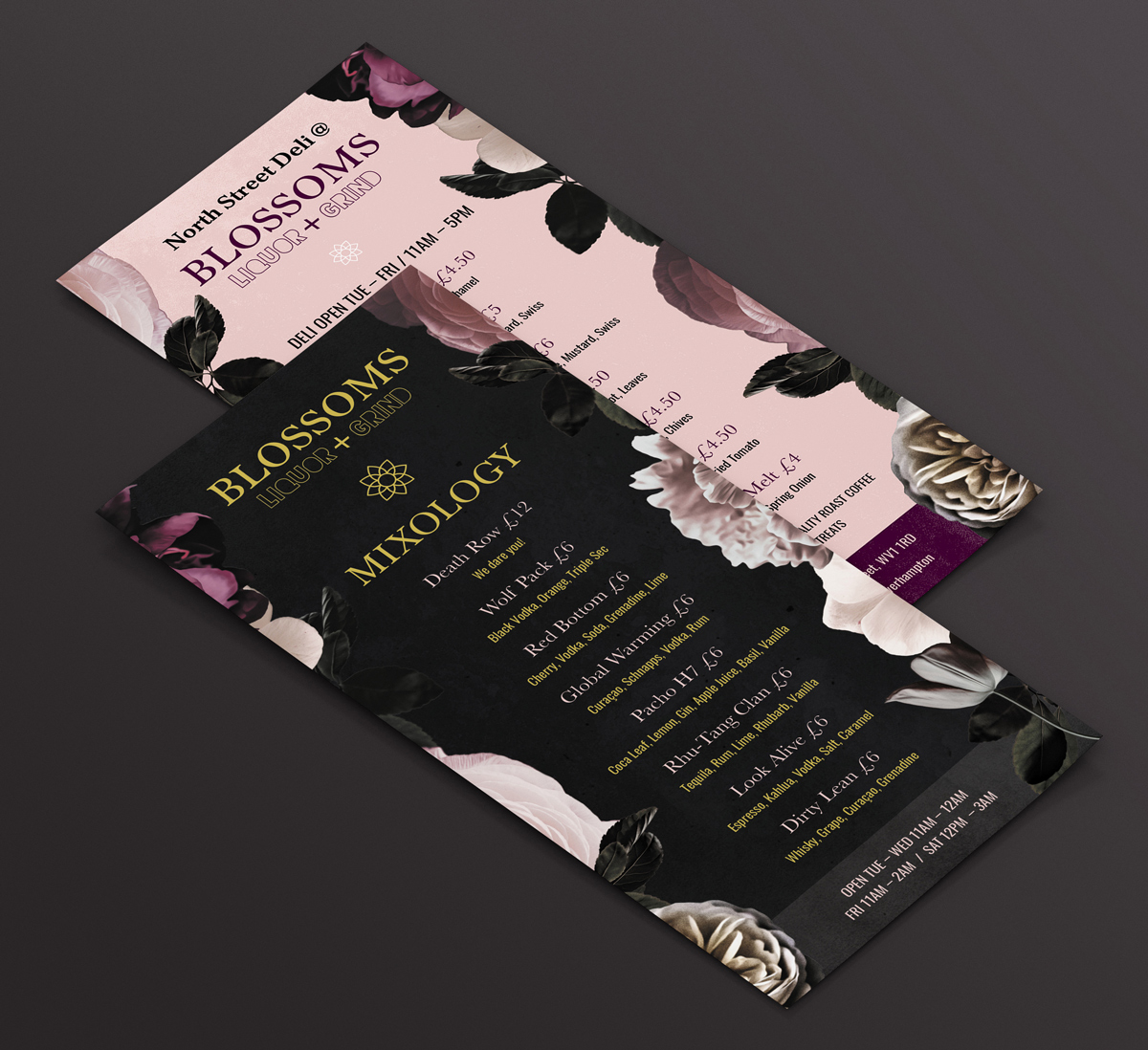 Blossoms flyer