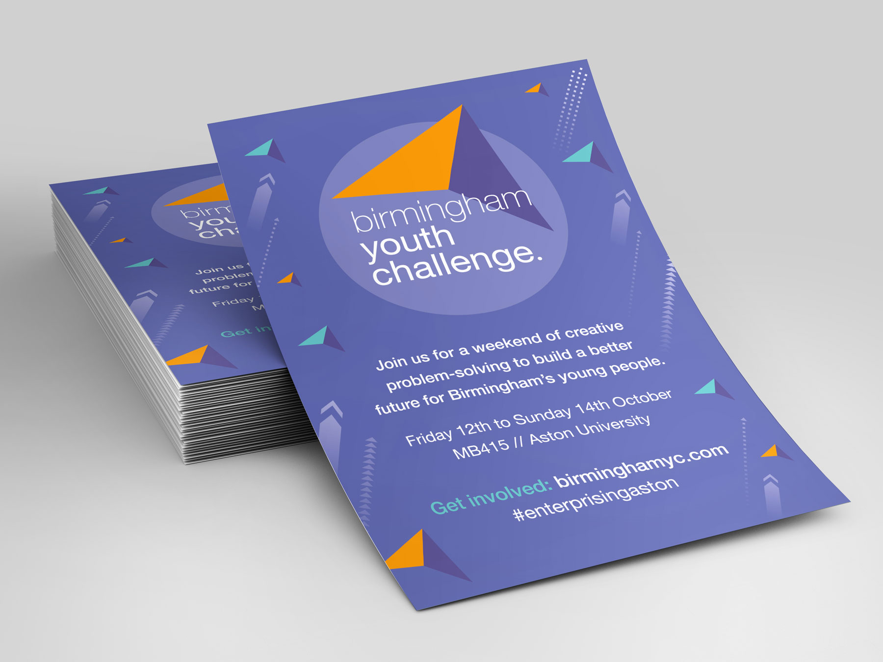 Birmingham Youth Challenge flyers