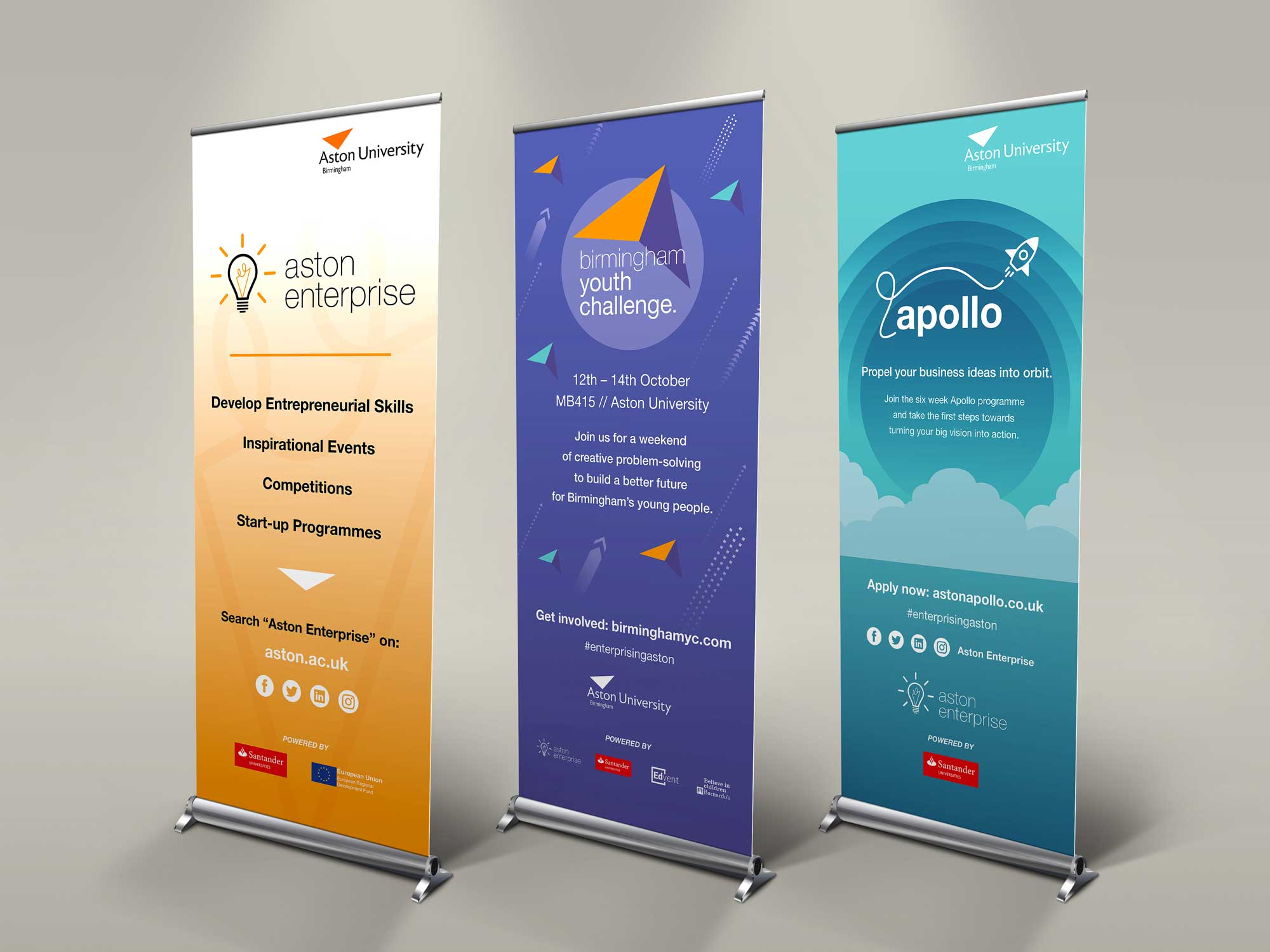 Aston Enterprise Banners