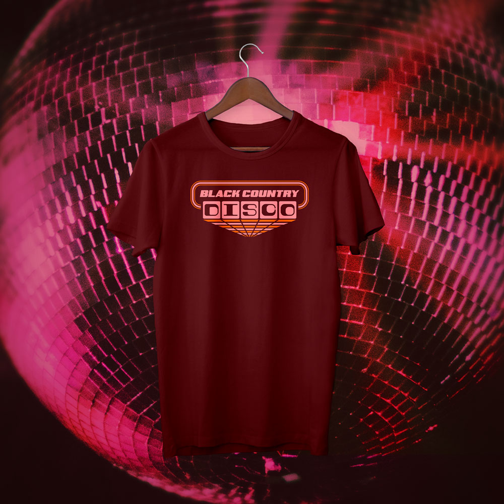 Black Country Disco tshirt