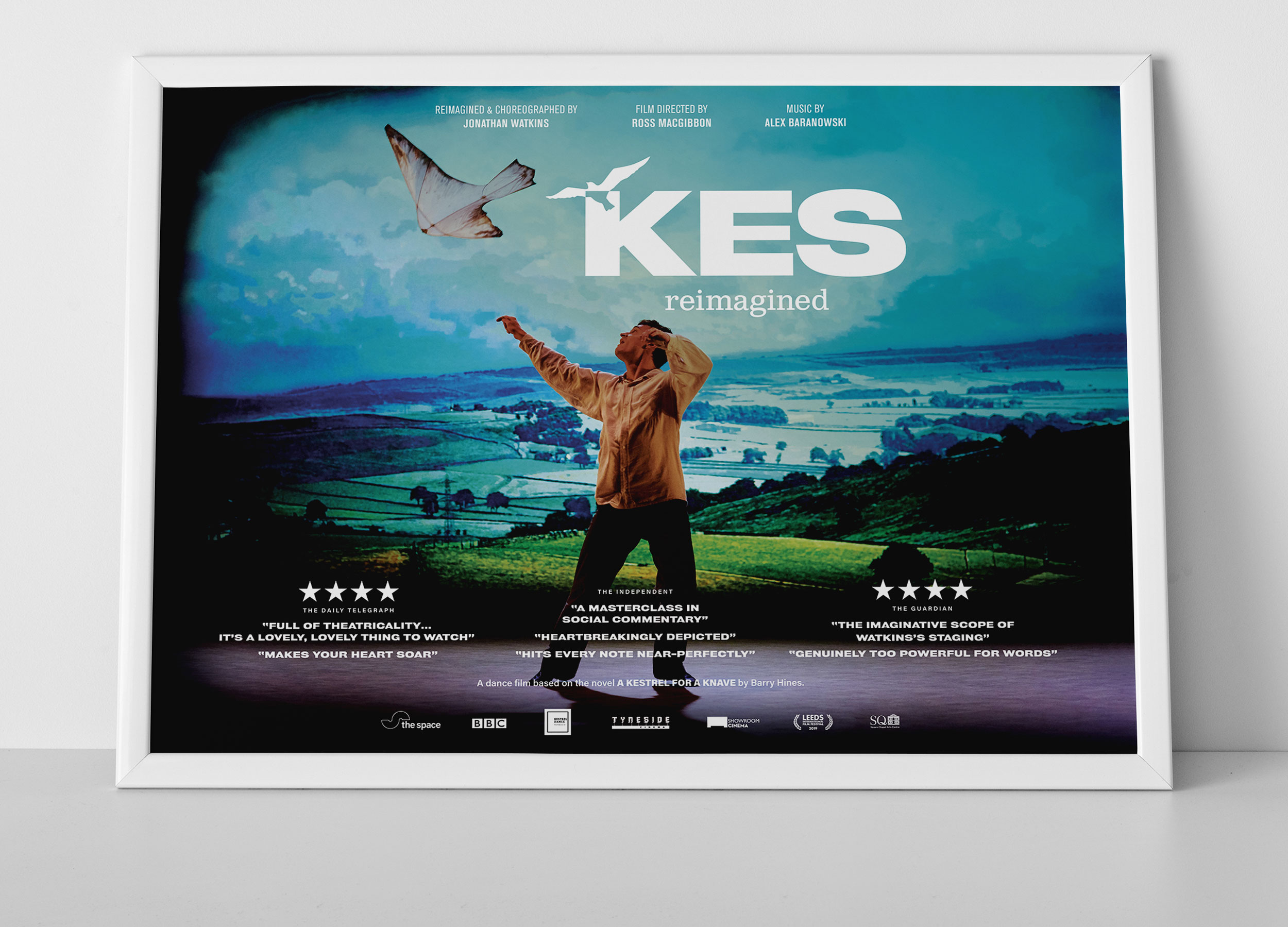 Kes Reimagined cinema poster