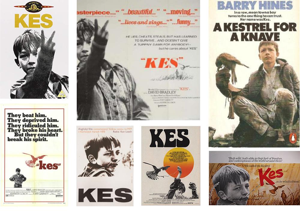 Kes original cinema posters