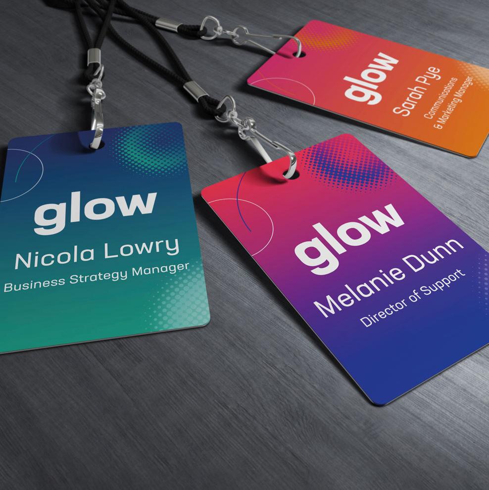 Glow lanyards