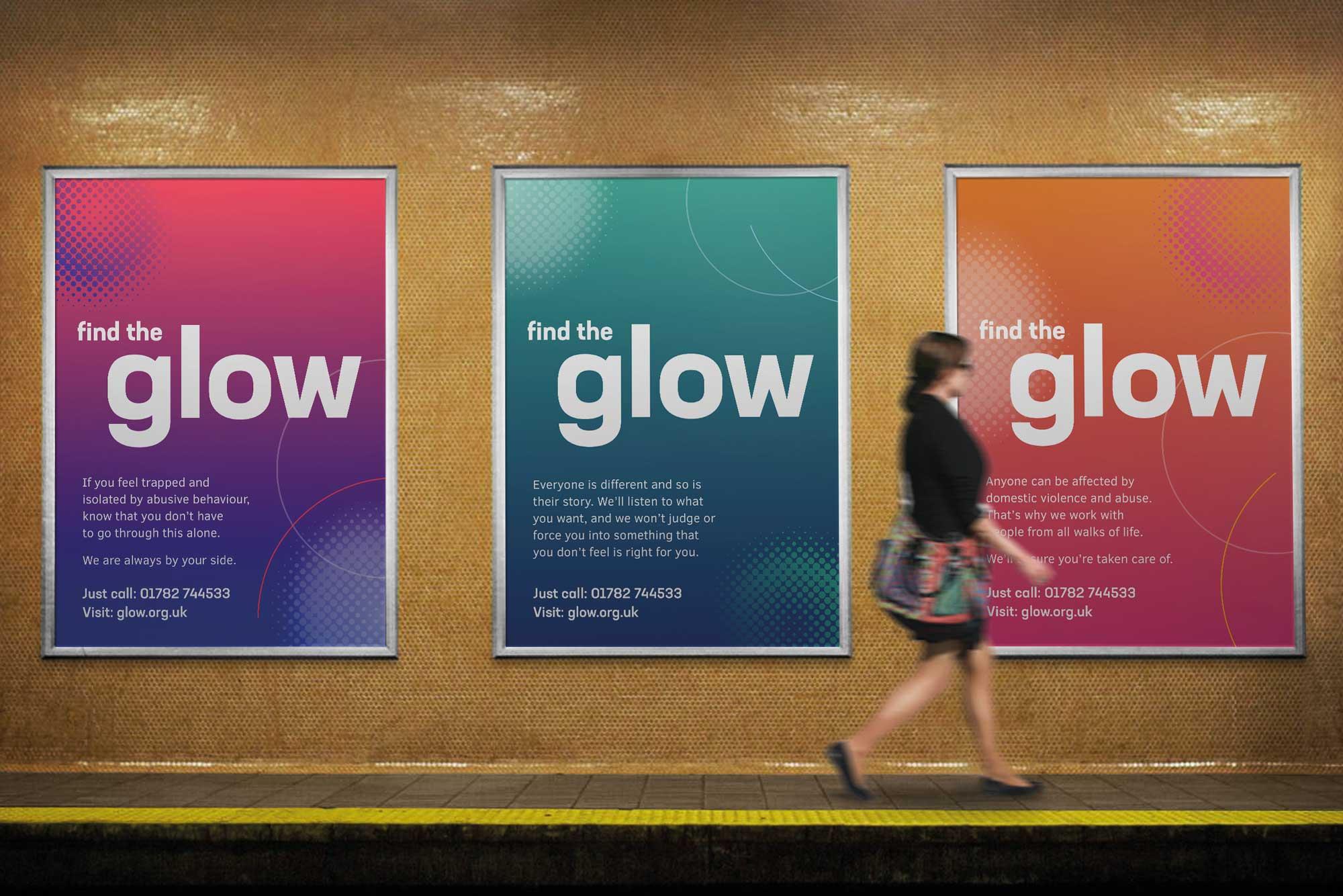 Glow outdoor media