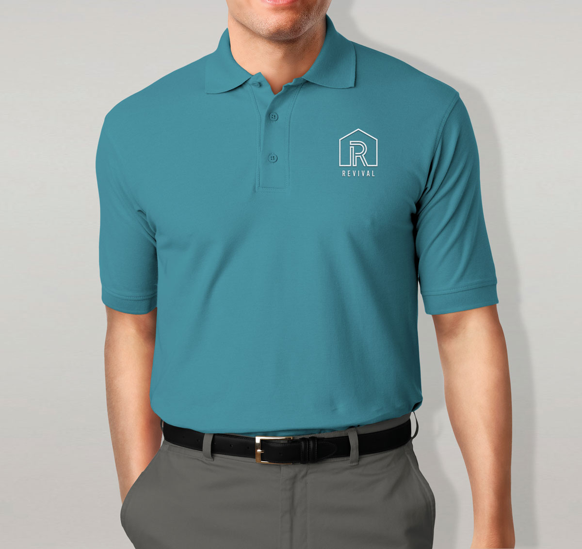 Revival polo tee
