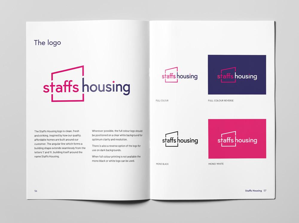 Staffs Housing brand guidelines