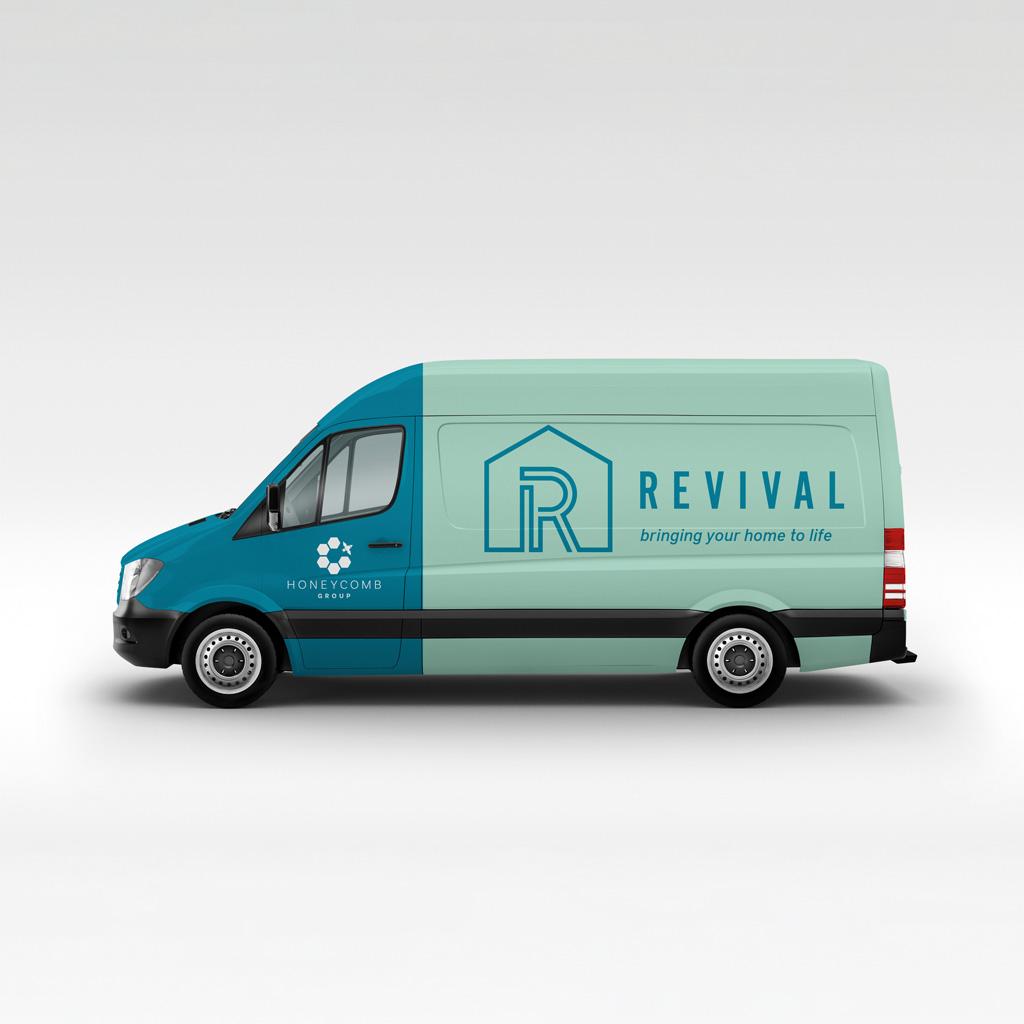 Revival van livery
