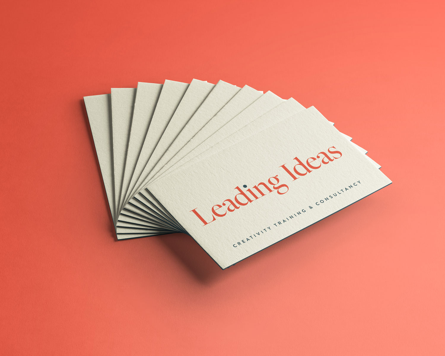 Leading Ideas Business Card